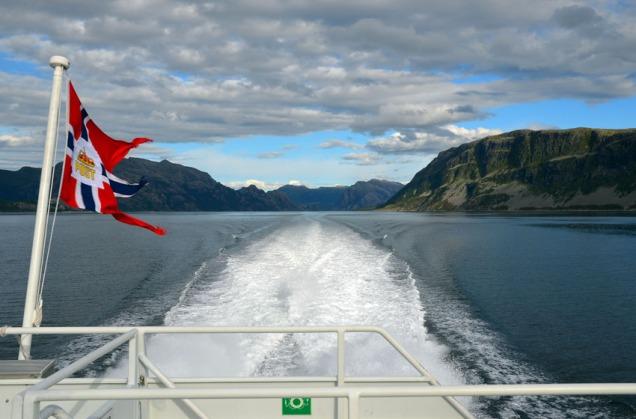 Den finaste reisemåten på kysten: Ekspressbåten mellom Bergen og Selje