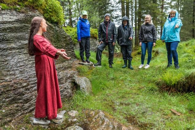 Guida tur i kvernsteinsbrota