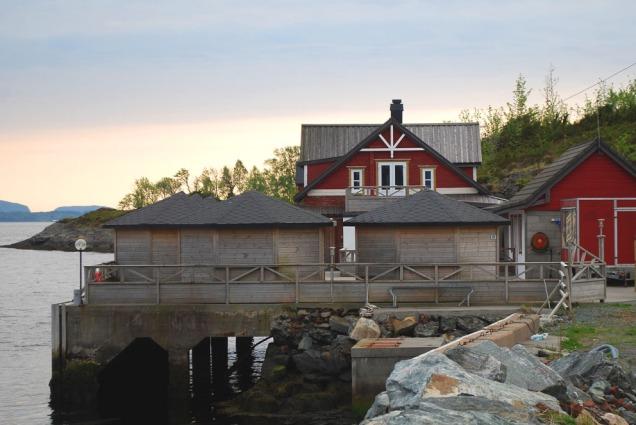 Verket Pub i Vårdal ligg idyllisk i den einaste av bygningane som er att frå den gamle tegldrifta.