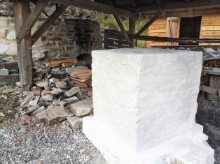 Vesleovnen ferdig restaurert med Mostrakalk